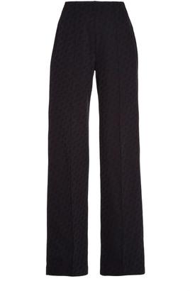 Saks Potts Lissay Logo-Print Jersey Pants