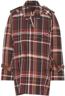Acne Studios Checked wool coat