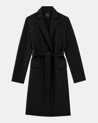 Theory Belted Coat in Double-Face Wool-Cashmere
