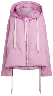 KHRISJOY Detachable-Sleeve Puffer Jacket