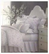 Martha Stewart Serenade Quilted Standard Pillow Sham In Muted Silver,