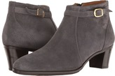 Gravati Ankle Buckle Suede Boot Women's Boots