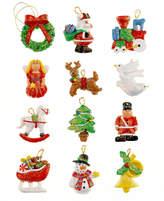 Kurt Adler Set of 12 Mini Resin Ornaments