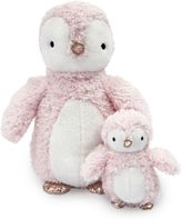 Lambs & Ivy 2-Piece Plush Penguins in Pink/Gold