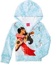 Disney Disney's Princess Elena of Avalor Plush Zip-Up Hoodie, Little Girls