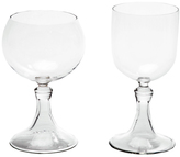 "Esque Hand-Blown Glass Goblet ""Simple"""