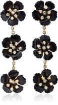 Jennifer Behr Belinda Gold-Plated Swarovski Crystal Earrings