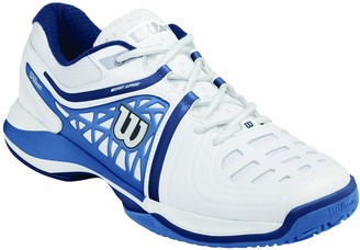 Wilson Mens NVISION ELITE Tennis Shoes multi-coloured (White / Demin / Marine Navy) 10.5 UK(45.3 EU)