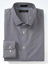 Banana Republic Grant-Fit Cotton Stretch Non-Iron Dot Check Shirt