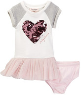 Juicy Couture Heart Sweatshirt Dress & Bloomer Set (Baby Girls 12-24M)