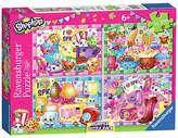 Ravensburger Shopkins 4 x 100 Piece Puzzle