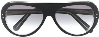 Cutler & Gross Oversize-Frame Sunglasses