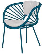 David Francis Furniture Aura Accent Chair - Pacific Blue