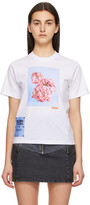 Thumbnail for your product : McQ White Fascinated Flowers T-Shirt