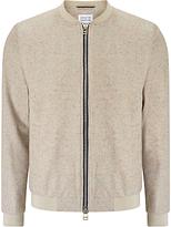 Libertine-libertine Chords Fever Wool Bomber Jacket, Sand W Nep