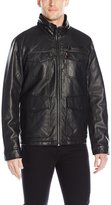 Levi's Men's Faux Leather Jacket W Sherpa Lining