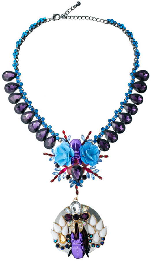 Asos Rose Garden Necklace