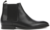 Paul Smith Men's Gerald Grain Leather Chelsea Boots Black Oxford Dax Grain