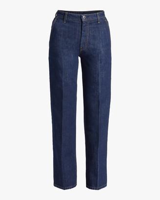 Helmut Lang Creased Jeans