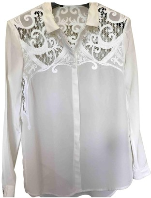 The Kooples White Silk Top for Women