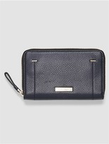 Calvin Klein Pebble Leather Zip Wallet