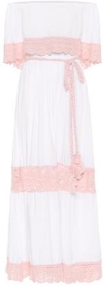 Anna Kosturova Casablanca cotton maxi dress