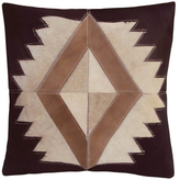 Nourison Dallas-Southwestern Western Diamond Pillow