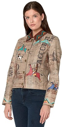 Double D Ranchwear Accounting Jacket (Elk Horn) Women's Clothing