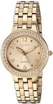 Citizen Women's 'Eco-Drive' Quartz Stainless Steel Casual Watch