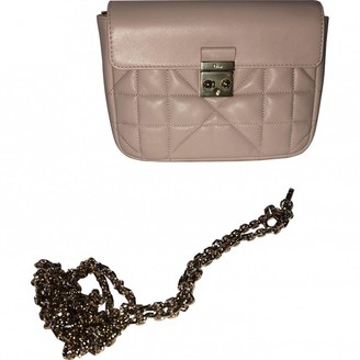 Christian Dior Miss Beige Leather Handbags