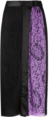 Emilio Pucci x Koche side panel skirt