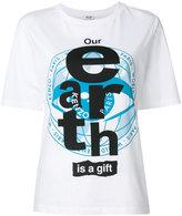 Kenzo slogan printed T-shirt - women - Cotton - S