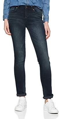 H.I.S Women's Monroe Skinny Jeans, (Premium Blue Black Wash 9723), 33W x 32L