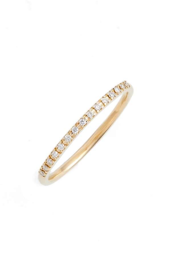 Chicco Zoe Thin Diamond Pave Band Ring