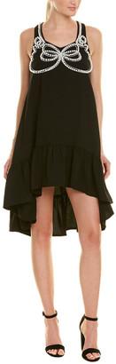 Stellah Pearl Bead A-Line Dress