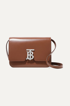 Burberry Small Leather Shoulder Bag - Brown