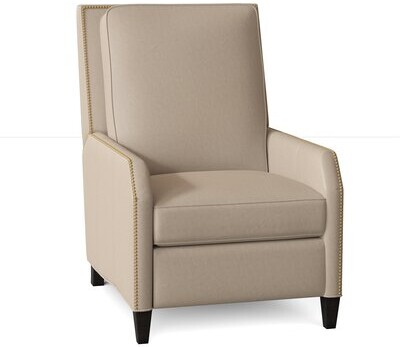 Thumbnail for your product : Bradington-Young Caroline Recliner Body Fabric: Outsider Cloud, Leg Color: Cobblestone, Reclining Type: Power Button