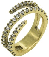 Nicole Miller Pave Coil Ring