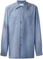 Maison Margiela Western style oversized shirt - men - Cotton - 40