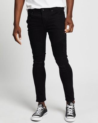 Silent Theory Strung Out Moto Jeans