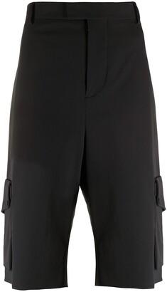 Bottega Veneta Utility Pocket-Detail Shorts