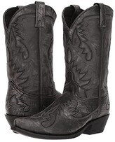 Laredo Garrett (Sanded Black) Cowboy Boots