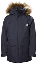 Helly Hansen Boy's Jr Felix Waterproof Parka With Faux Fur Trim