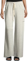 Allen Allen Wide-Leg Lounge Pants