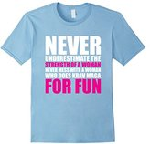 Never Mess with Woman who Does Krav Maga T-Shirt