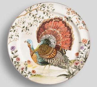 Pottery Barn Botanical Harvest Turkey Serving Platter