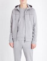 HUGO BOSS Cotton-jersey hooded sweatshirt