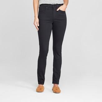 Universal Thread Women's High-Rise Skinny Jeans - Universal ThreadTM Black