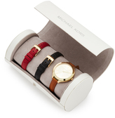 Michael Kors Slim Runway Watch Gift Set
