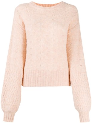 See by Chloe Long Bell Sleeve Jumper